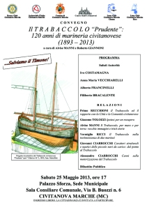 Microsoft Word - Locandina Trabaccolo 25 Mag. 13 (1).doc