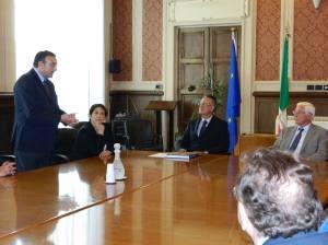 ALBANIA-25-07-2013 Visita ambasciatore albanese 010